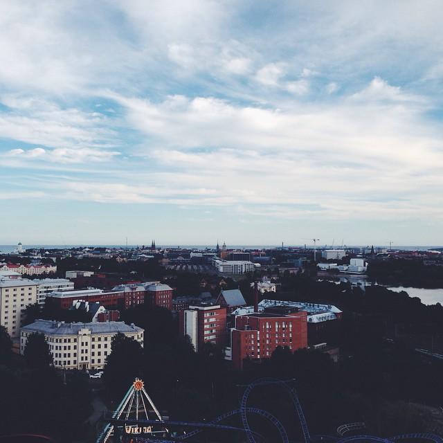 #helsinki #linnanmäki #maailmanpyörä #visithelsinki #ourfinland